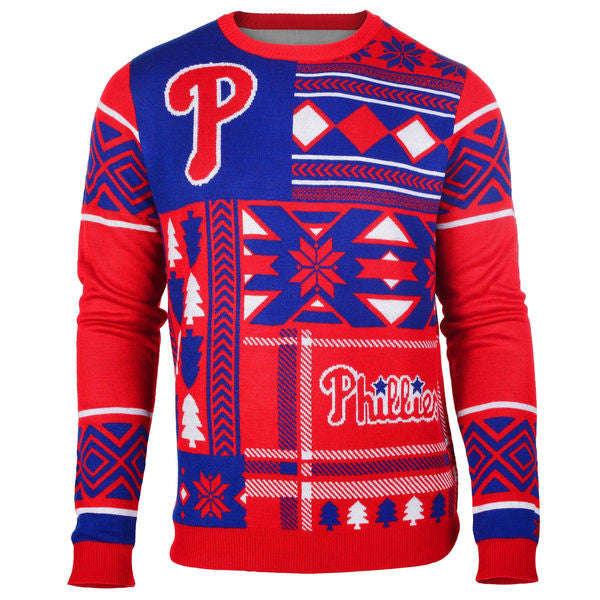 Philadelphia Phillies Patches Ugly Sweater
