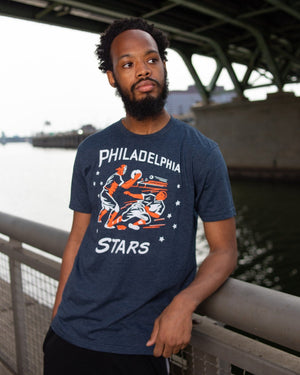 Philadelphia Stars Negro League Baserunner T-Shirt