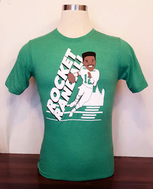 Rocket Randall Football T-shirt