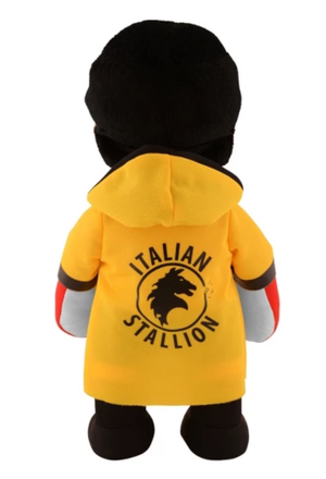 Rocky Balboa plush figure with robe