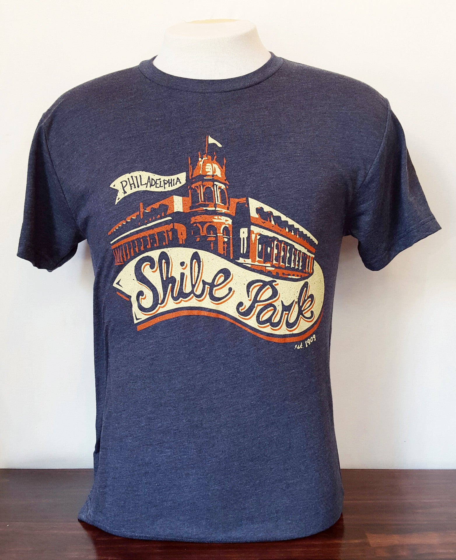 shibe park t shirt shibe vintage sports. Black Bedroom Furniture Sets. Home Design Ideas
