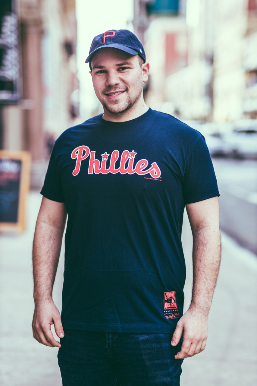 Philadelphia Phillies Pushed Logo Tee