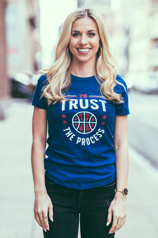 a09fc86d Trust The Process Women's tee