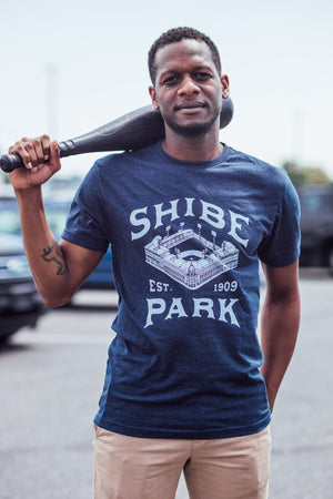 Philadelphia Shibe Park Faded T-Shirt