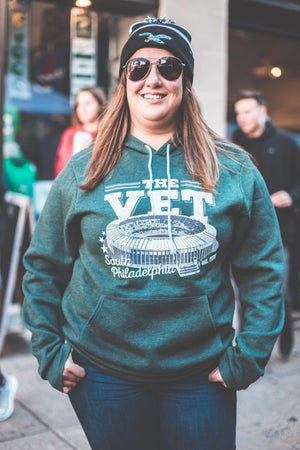 Veterans Stadium Hooded Sweatshirt