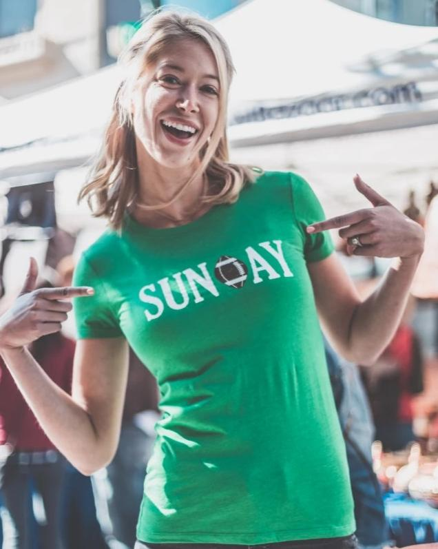 Women's Sunday Football shirt