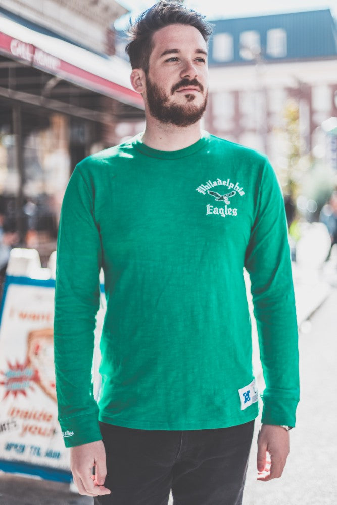 Philadelphia Eagles Slub Long Sleeve Tee