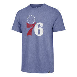 Philadelphia 76ers D Imprint Match Royal Tee