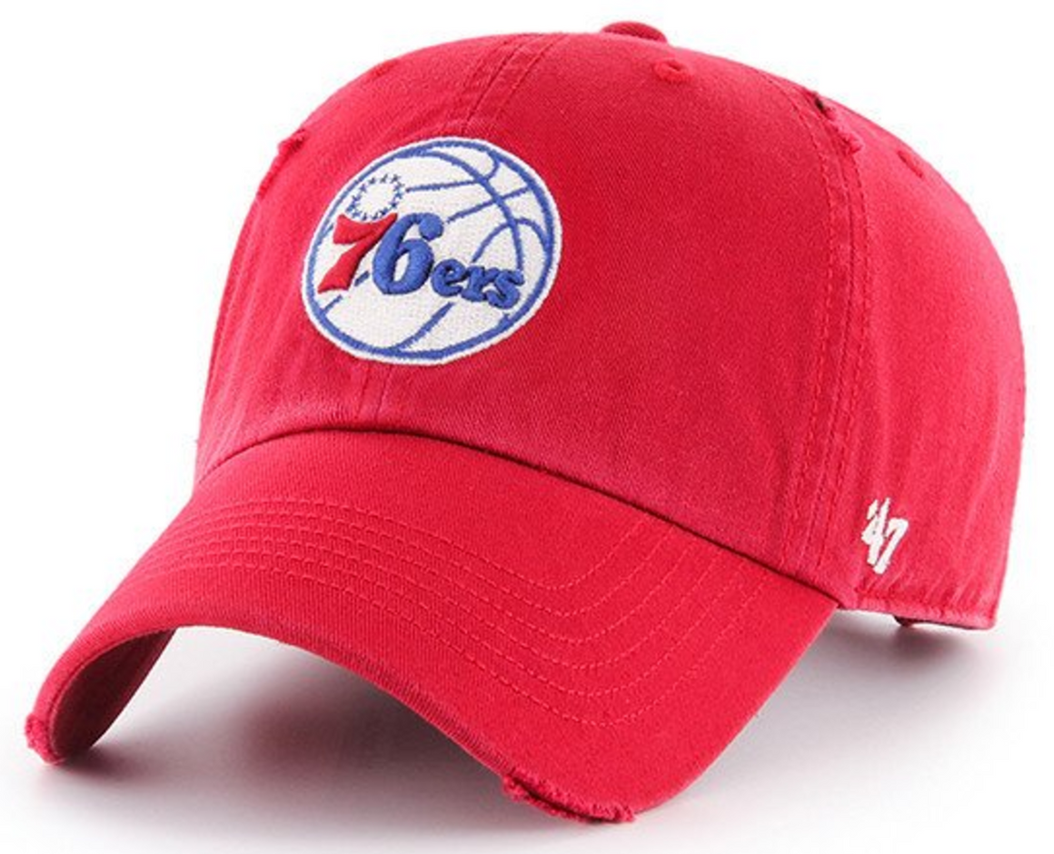 Philadelphia 76ers Ridge Clean Up adjustable hat