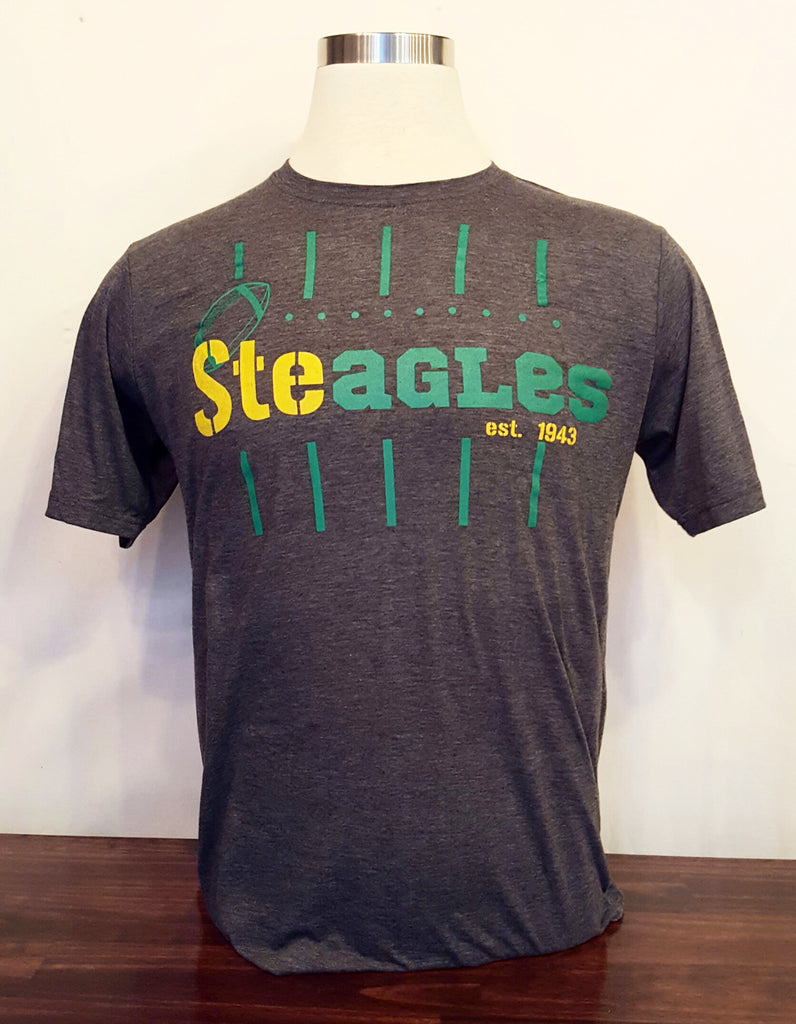 Phila-Pitt Steagles Charcoal T-shirt