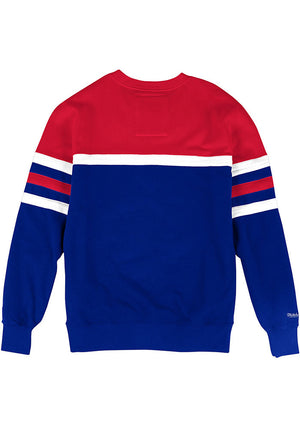 Sixers Head Coach Blue Sweatshirt