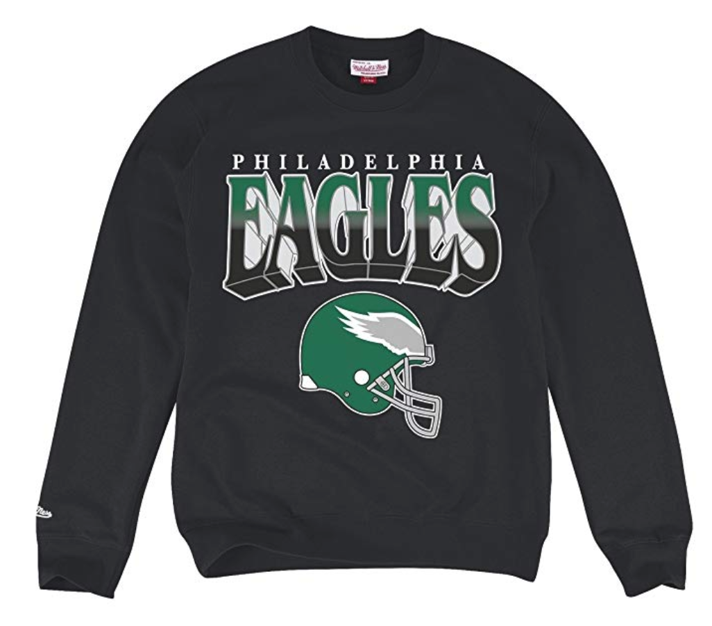 new arrival 3d298 b25d8 Philadelphia Eagles Rushing Line Crewneck Sweatshirt