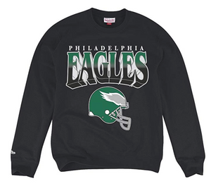 Philadelphia Eagles Rushing Line Crewneck Sweatshirt