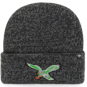 Philadelphia Eagles Black Brain Freeze Cuff Knit