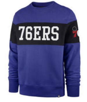 Philadelphia 76ers Interstate Crew Sweatshirt
