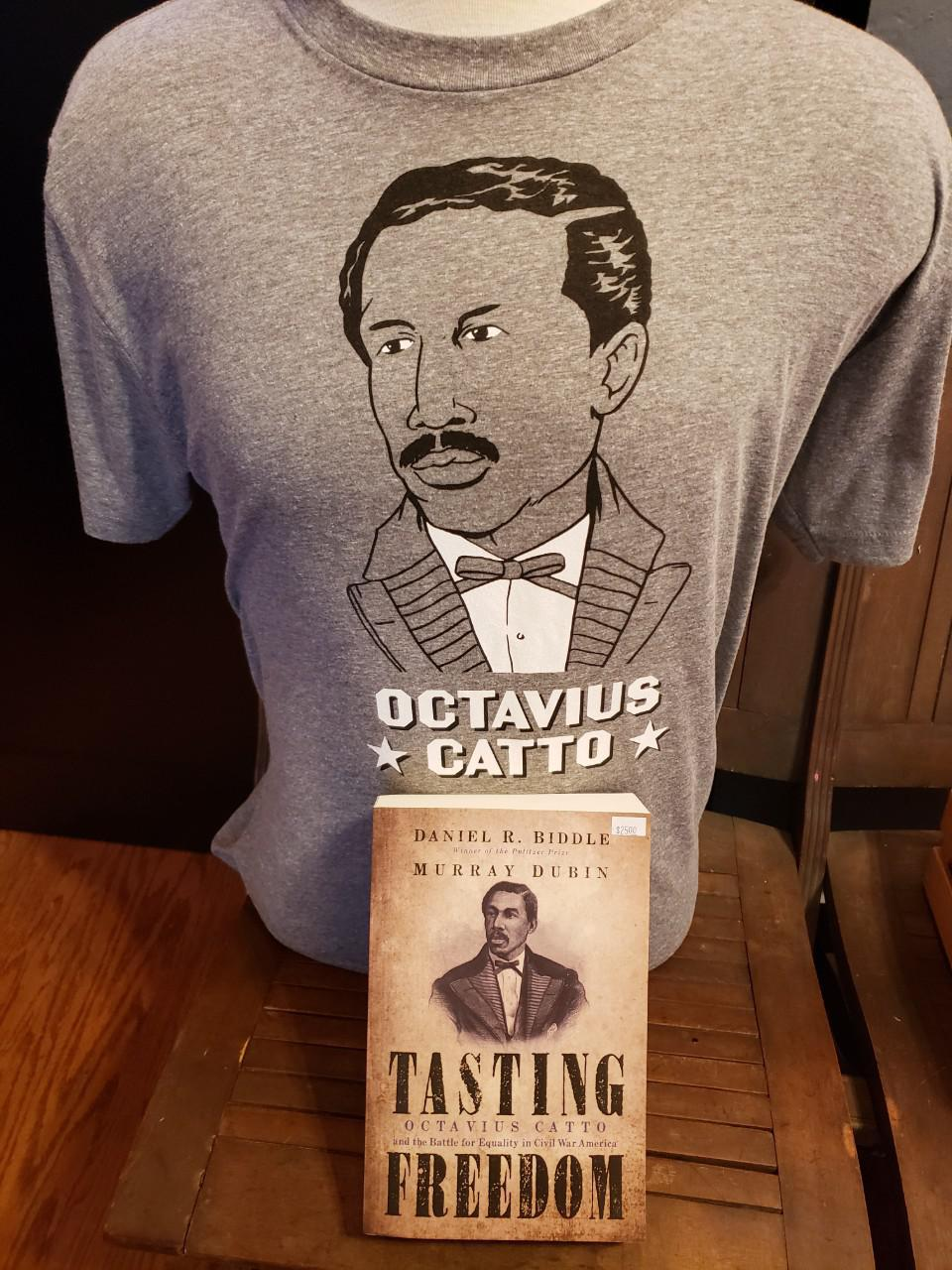 Octavius Catto Shirt + Book Bundle