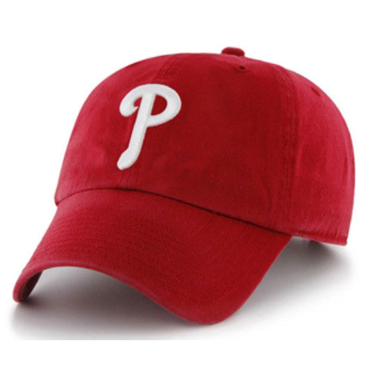 "Philadelphia Phillies ""Clean Up"" Adjustable Red cap"
