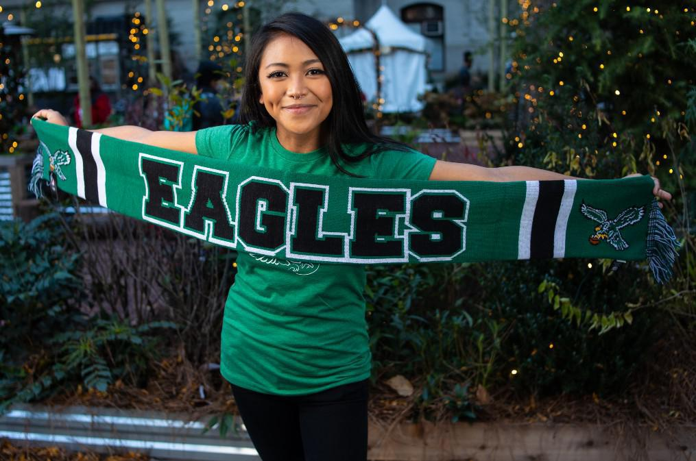 Philadelphia Eagles Kelly Green Breakaway Scarf