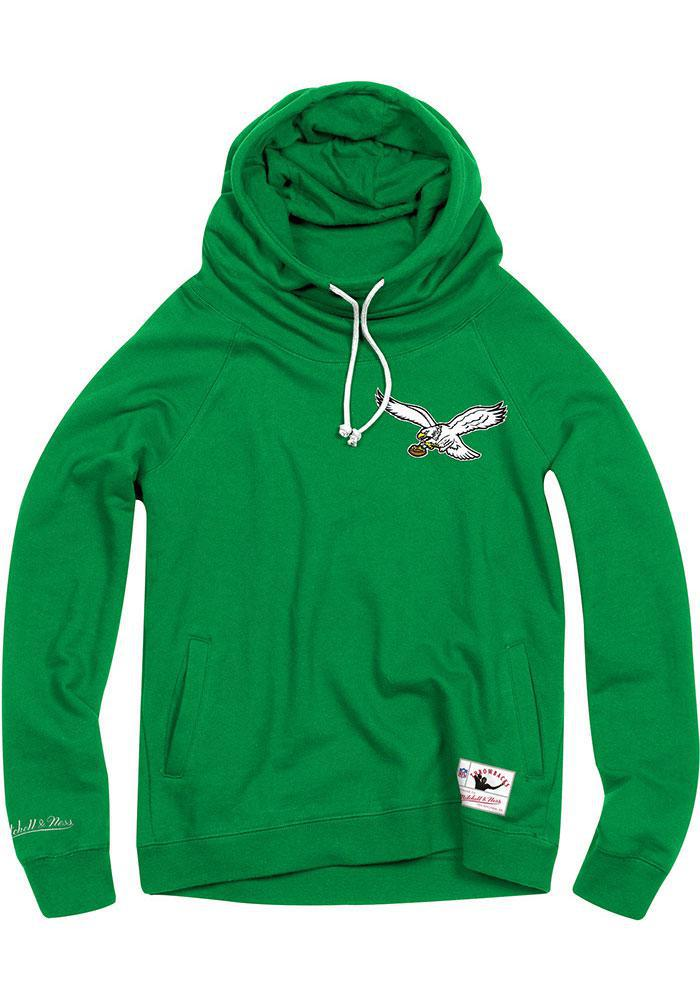 Philadelphia Eagles Women's Funnel Neck Fleece