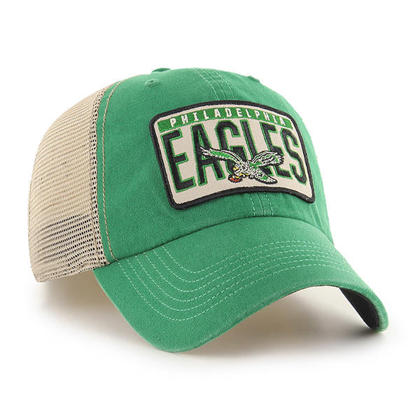 Philadelphia Eagles Lawton Kelly Green Trucker Cap