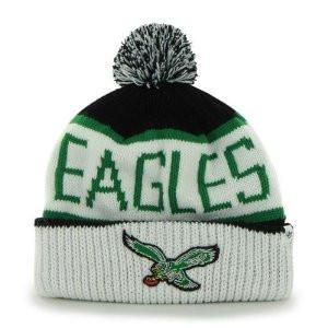 Philadelphia Eagles White Calgary Knit hat