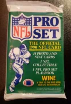 Football Cards Pack - $3