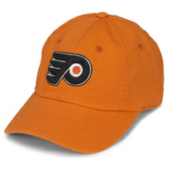 Philadelphia Flyers Orange Blue Line Strapback Hat
