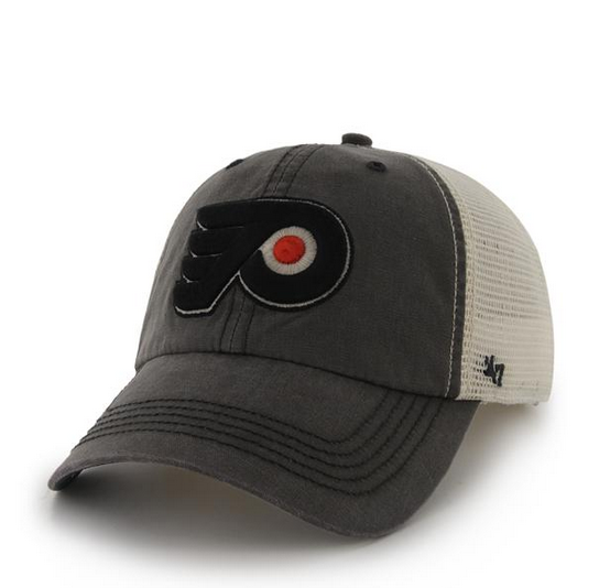 Philadelphia Flyers Charcoal Canyon 47 Closer Mesh Hat