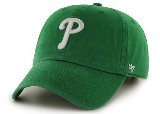 "Philadelphia Phillies ""Clean Up"" Adjustable Kelly Green cap"