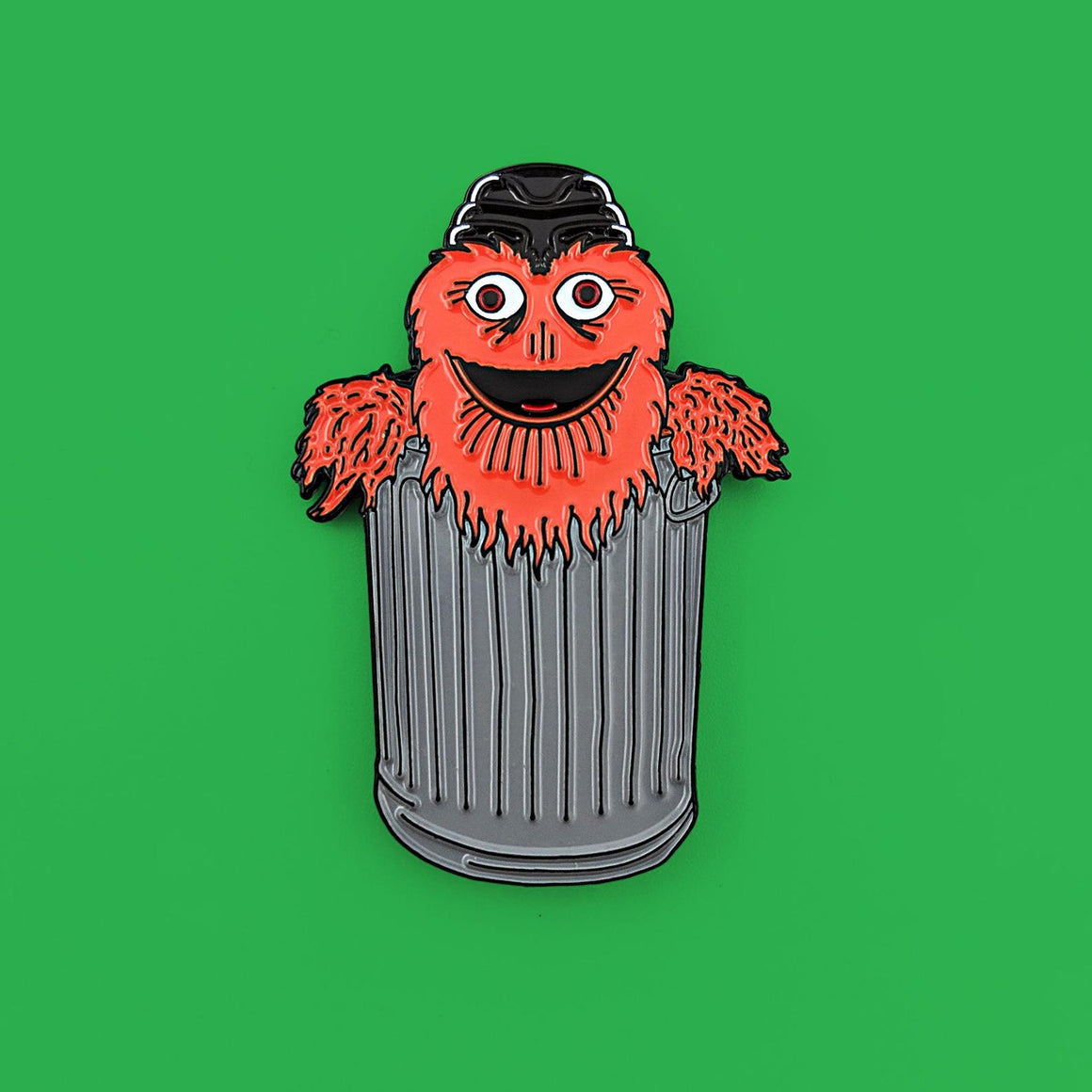 Gritty the Grouch pin
