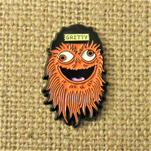 Gritty Face pin