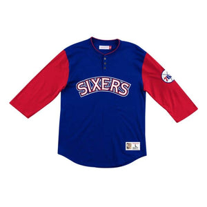 Philadelphia 76ers Two-tone Henley