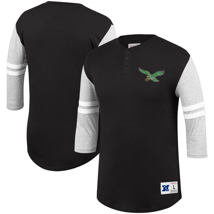 Philadelphia Eagles Team Logo Henley