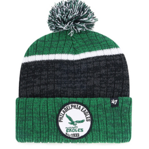 Philadelphia Eagles Dark Green Holcomb Cuff Knit