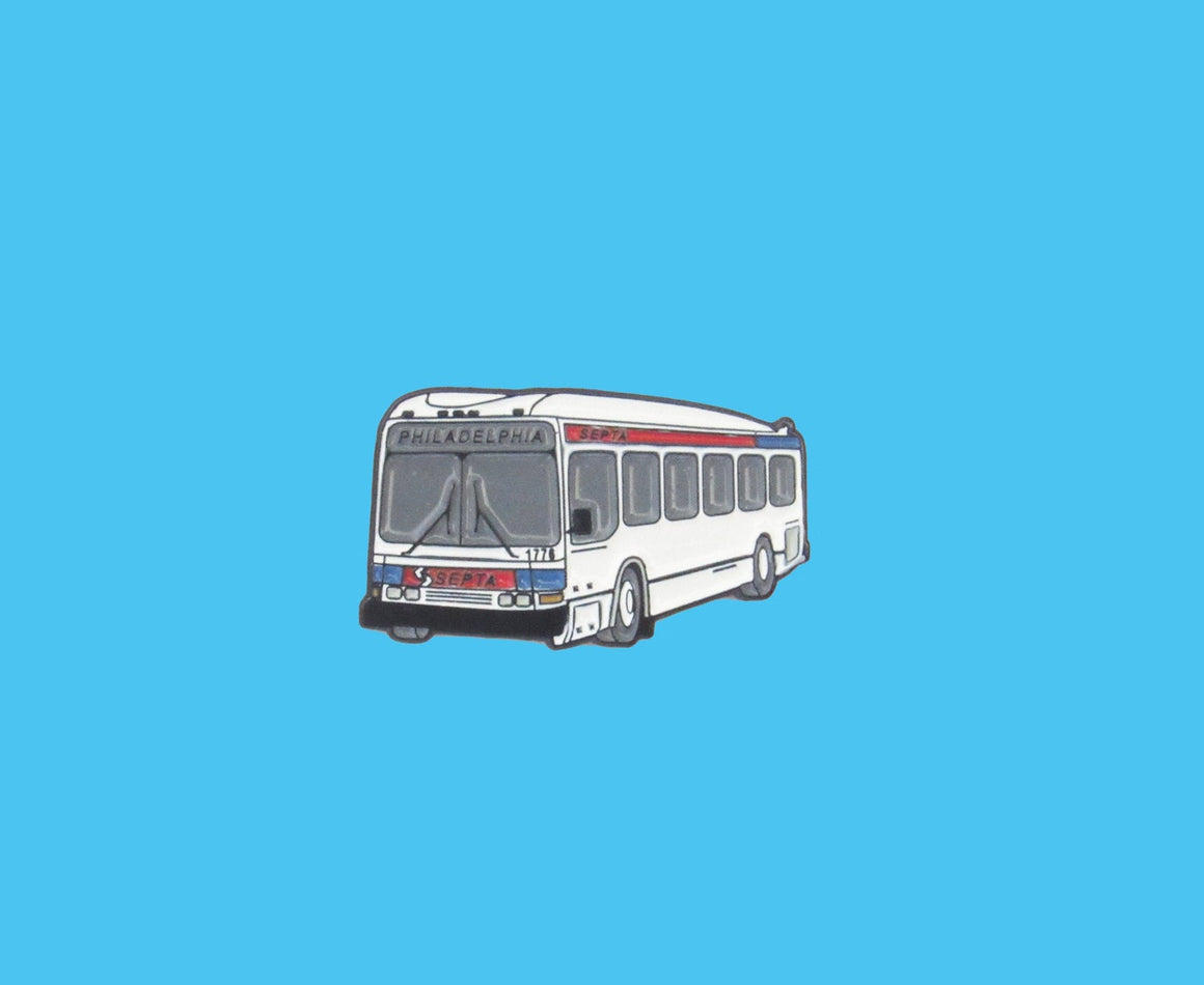 SEPTA Bus pin