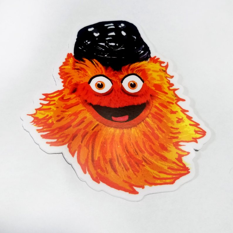 Gritty Face Stickers
