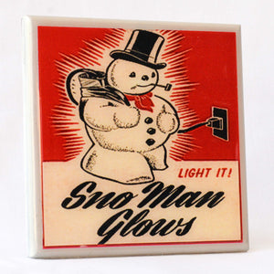Holiday Cheer Drink Coasters 4-pack