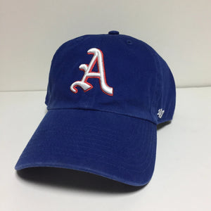 Philadelphia Athletics 1954 Adjustable Royal Blue Cap with Red Trim