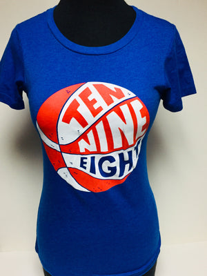10-9-8 Basketball Women's tee