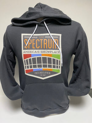 Spectrum Charcoal Hooded Sweatshirt