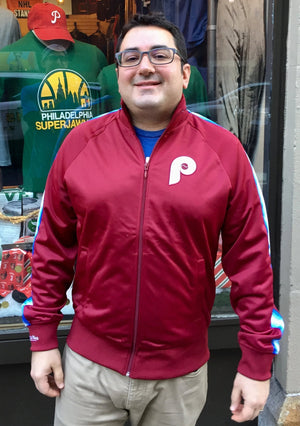 Philadelphia Phillies Vintage Track Jacket