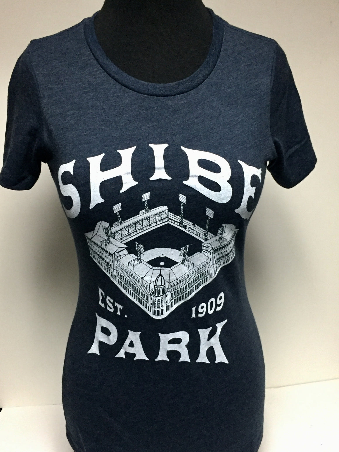 Shibe Park Navy Blue Women's tee