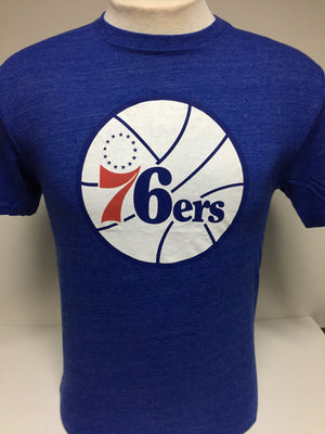 Philadelphia 76ers Tailored Tri-Blend tee