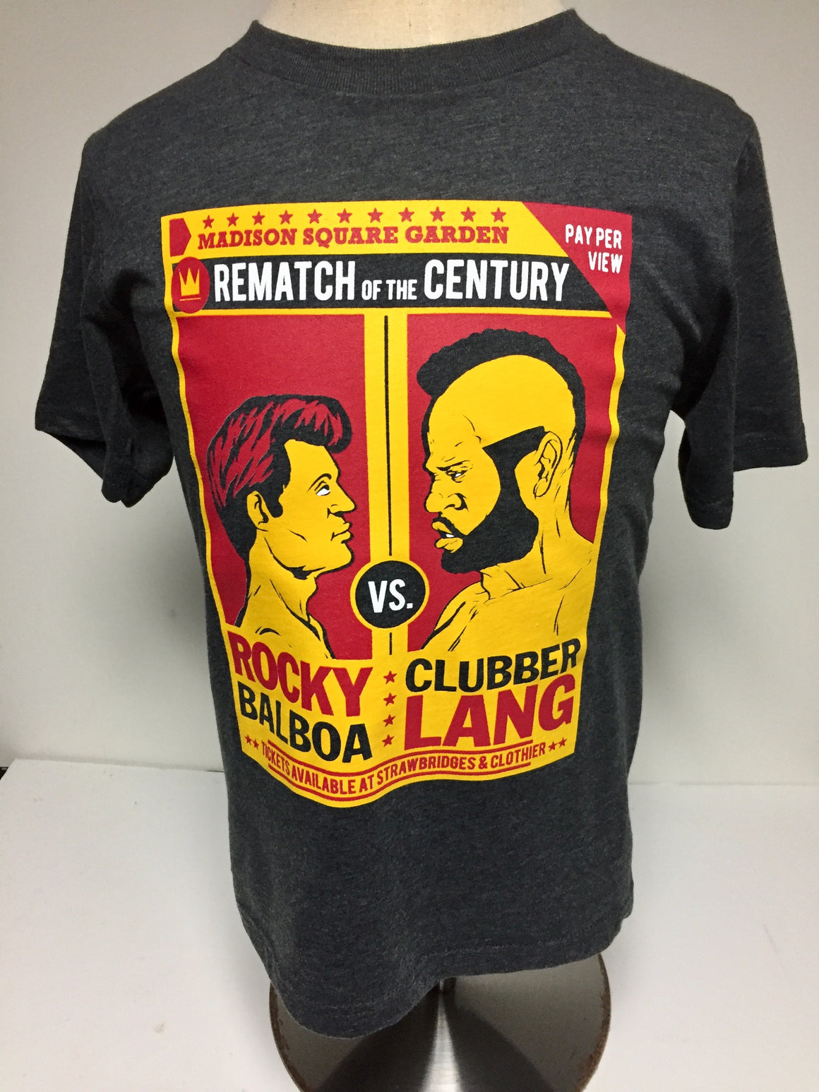 Rocky vs. Clubber Lang Toddler & Youth T-Shirt