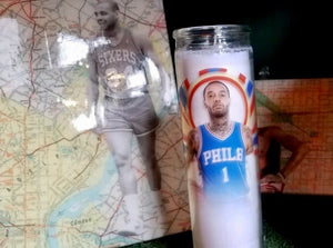 Mike Scott Candle