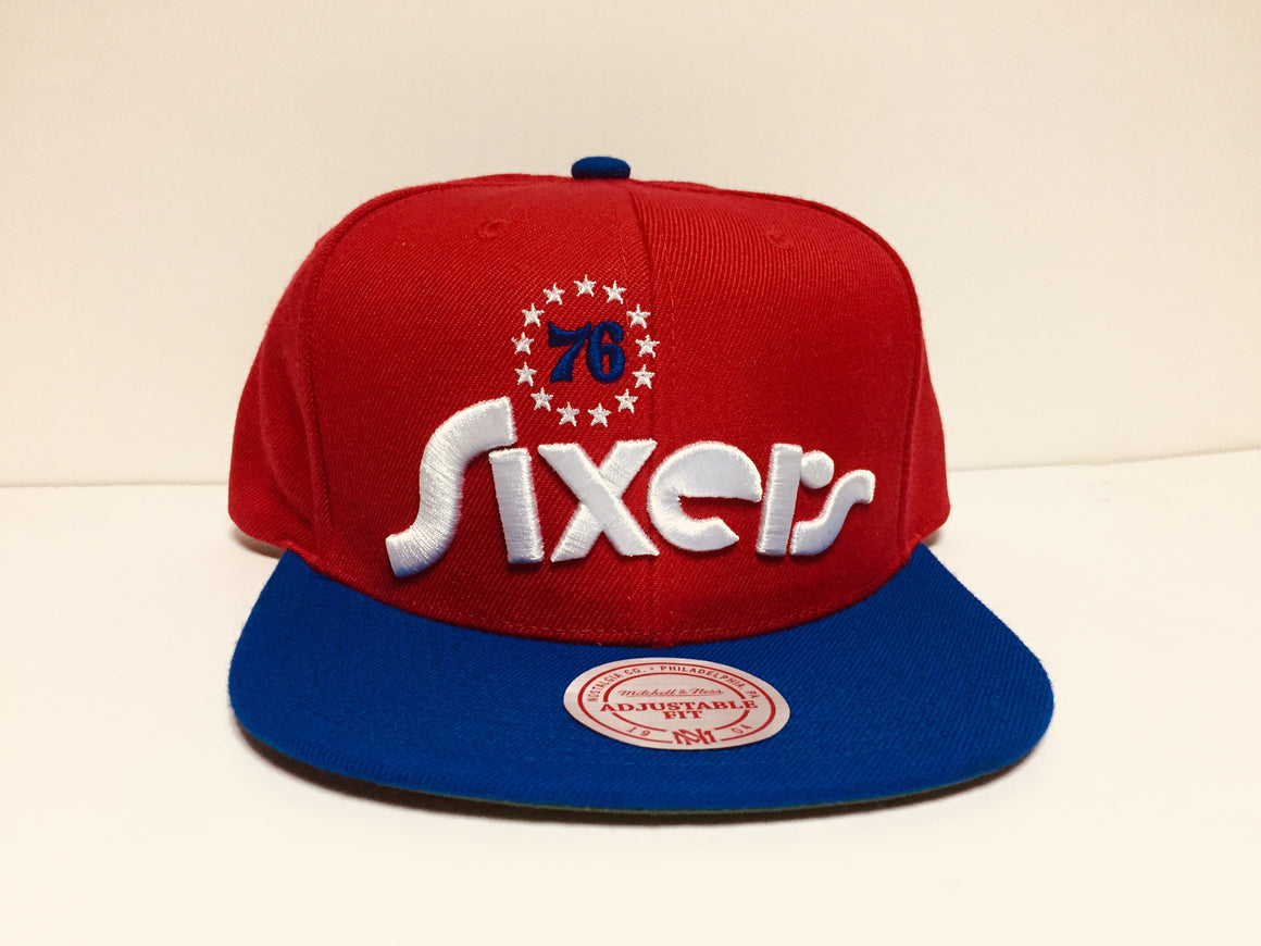 Philadelphia 76ers Red Heritage Hat