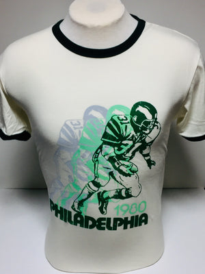 1980 Philadelphia Football t-shirt