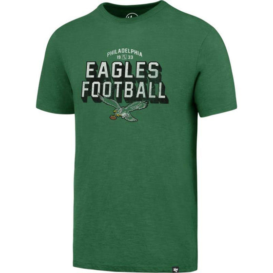 Philadelphia Eagles Kelly Green Scrum t-shirt