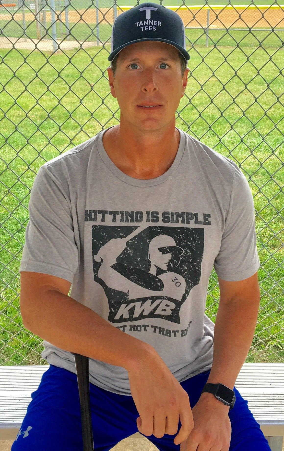 """Hitting Is Simple. It's Just Not That Easy"" shirt"