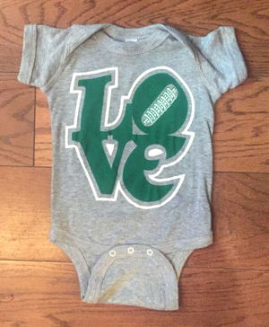 LOVE Eagles Onesie